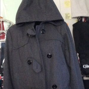 Charcoal Gray Trench coat